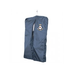 Garment Bag with sewn on crest