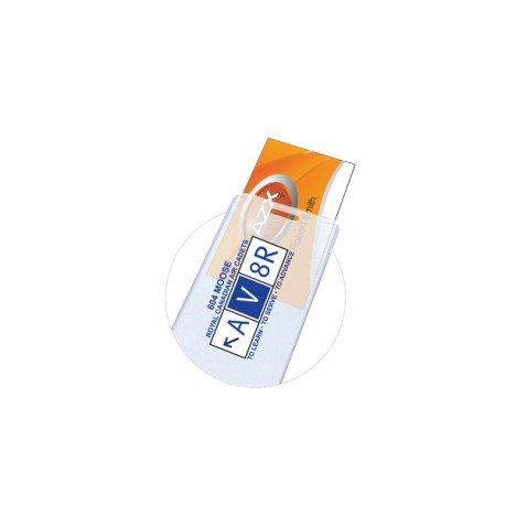 """1/16"""" Thick Printed Luggage Tag w/ Business Card Insert"""